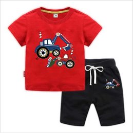 Boy Brand T Shirt Australia - 2020 Baby Boys And Girls Designer T-shirts And Shorts Suit Brand Tracksuits Kids Clothing Set Hot Sell Fashion Summer Children's Clothi