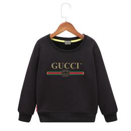 Ingrosso Ragazza maglione 2019 Nuovo modello Autunno e primavera Pretend Vestiti per bambini Bambini False Jacket Grandi ragazzi con cappuccio