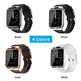 Watchs phone online shopping - 200pcs DZ09 smartwatch android GT08 U8 A1 samsung smart watchs SIM Intelligent mobile phone watch can record the sleep state Smart watch