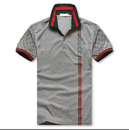 14dd095fb Italy polo online shopping - 2018 luxury Italy designer polo shirt t shirts  Luxuryi embroidery mens