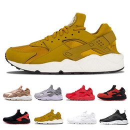 Dark reD huaraches online shopping - Huarache Classical Triple White Black red men women Huarache Designer Shoes Huaraches sports Sneakers Running Shoes size