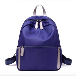 ac3768b24076 new school college bag 2019 - 2019 Leather Backpack Kvky Spring And Summer  New Nylon Women