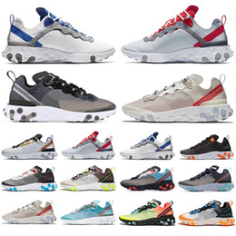$enCountryForm.capitalKeyWord NZ - New Arrival React Element 87 55 Running Shoes For Men Women Sail SE Taped Seams Royal Tint Anthracite Total Orange Green Mist Sneakers