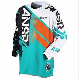 jersey bmx NZ - 2020 ansr ride off-road breathable fast dry mtb bmx xxxl motocross motorcycle dh jersey downhill tshirt cross wear