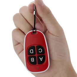 Wireless Door Key Australia - 4 keys Garage Door Gate Key Fob 433 Mhz Duplicator Copy CAME Remote Control Door key wireless remote control