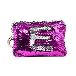 $enCountryForm.capitalKeyWord Australia - 50PCS   LOT Fashion Coin Bag Sequin Coin Wallet Change Key Zipper Wallet Mini Creative Wallet Wholesale Random Delivery