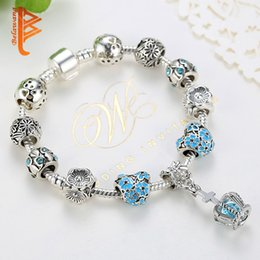 $enCountryForm.capitalKeyWord Australia - USpecial 2019 European Crown Charm Bracelets for Women Cubic Zirconia Crystal Bangles 925 Silver Bracelets Pulseras Authentic Jewelry Gift