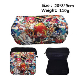 making light box Australia - Women make up bag Handbags Anime Pencil Case ONE PIECE Z Sans School Pencil Box Pencilcase Pen Bag Cosmetic Bags