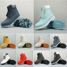 mens blue suede ankle boots NZ - 2020 Platform Designer Sports Red White Winter Sneakers Casual Trainers Mens Womens Luxury Ankle boots Sizes 36-45