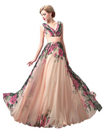 $enCountryForm.capitalKeyWord Canada - Bouquet Dresses Party Evening Champagne turquoise peacock Floral Prom dresses under 100 Special Occasion Dresses for Women Real Image