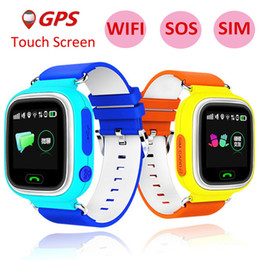 Smart Watches Gps Wifi Australia - Q90 GPS smart watch baby watch with Wifi touch screen SOS Call Location DeviceTracker for Kid Safe Anti-Lost Monitor