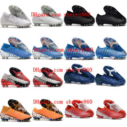 vapor cleats Australia - 2019 mens soccer shoes Mercurial Superfly 7 Elite SE FG CR7 soccer cleats neymar Ronaldo football boots Mercurial Vapors 13 Elite FG
