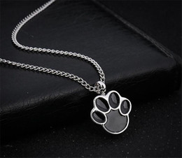 $enCountryForm.capitalKeyWord Australia - Cute Puppy Claws Birthstone In Memory Of Pet Dog Memorial Ashes Urn Pendant Necklace For Ashes Keepsake Urn Charms Cremation Jewelry