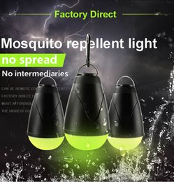 $enCountryForm.capitalKeyWord Australia - LED Mosquito Killer Lamp Outdoor Camping Light IP67 Waterproof USB Charging Retractable Hook night lamp Indoor Kids room and Outdoor Garden
