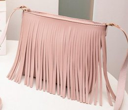 $enCountryForm.capitalKeyWord Australia - wholesale Fashion 2019 New Casual Girls Ladies Hot Sales Women's Bags Shoulder Purse New Product Messenger Tassel Mobile Phone Bag