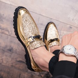 Fashion Trends Lace Dress Australia - Men Thick Bottom Dress Shoes Luxury Italian Style Fashion Formal Brand Men Trend Bring Business Leather Shoes Sizee 35-46