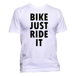 Cycling Cyclist Australia - Bike Just Ride It Cyclist Bicycle Cycle Slogan T-Shirt Mens Womens Unisex Gift Size Discout Hot New Tshirt Top Free Shipping T-shirt