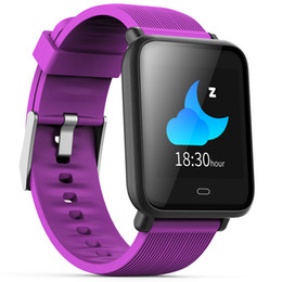 Wholesale Smart Watch Colorful Screen Sleep Heart Rate Monitor IP67 Waterproof Sports Men Women Smartwatch For Android and IOS