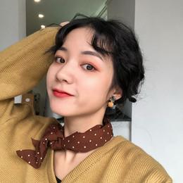 Silver diamond hair bowS online shopping - Suitable for Winter Bow Hair Ball Earrings New Korean Fashion Web Celebrity Ear Stud Women s Winter Ear Accessories