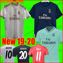 ed0621cd Real madrid Jerseys 2019 2020 Isco soccer jersey SERGIO RAMOS MODRIC BALE football  shirt uniforms kit 19 20 camisetas EA sports