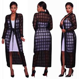 $enCountryForm.capitalKeyWord Australia - 2019 Womens Long Sleeve Sexy See Through Bandage Long Maxi Kimono Cardigan Blouse Casual Jacket Top Dress Coats