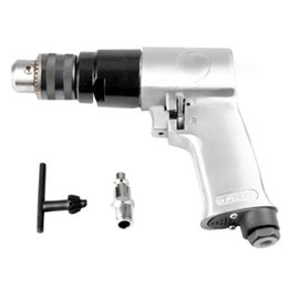 pneumatic connectors Australia - 3 8 Inch 1800rpm High-Speed Pistol Type Pneumatic Gun Drill Reversible Air Drill Wrench Connector Tool Floor Wall Hole Drilling