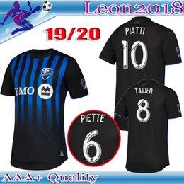 Thai quality 2019 2020 Montreal Impact soccer jersey 19 20 PIATTI DROGBA  EDWARDS football jerseys shirt cf680e977