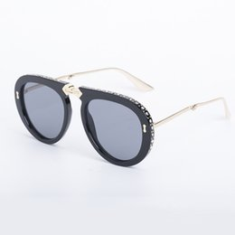 f56b4e8b3e1 Rhinestone eyeglasses women online shopping - 2019 New Fashion Sunglasses  Folding Frame With Rhinestones Sun Glasses