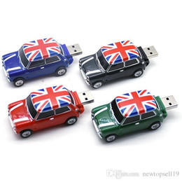 $enCountryForm.capitalKeyWord Australia - High quality Mini cooper Creative pen drive U disk 4GB 8GB 16GB 32GB 64GB USB cute mini car usb flash drive pendrive usb stick Hot gift disk