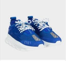 Nova Reação Em Cadeia mens Designer sapatos casuais Formadores Sapatos Casuais Leve Tênis de borracha-Ligado designer de 64 venda por atacado