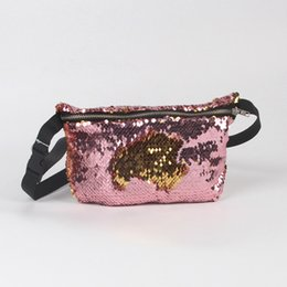 New Arrival Women Female Sequin Glitter Shiny Waist Pack Belt Shoulder Bag  Multifunction Pouch Purse Crossbody Bags Popular Fa 1 fe2bda2f71a3