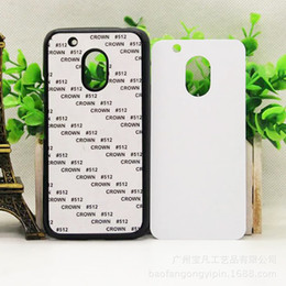 plastic sublimation NZ - For Moto G5 Plus Z Force 2D Sublimation Hard PC Cell Phone Case With Aluminium Plate for Moto G6 G6 Plus