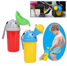 Boys Urinals Australia - Portable Convenient Travel Cute Baby Urinal Kids Potty Girl Boy Car Toilet Potties Vehicular Urinal Traveling Urination 2019 Outdoor Tools