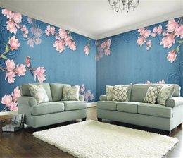 $enCountryForm.capitalKeyWord Australia - European retro flower and bird house custom background wall beautiful romantic wallpaper