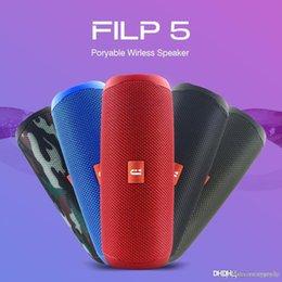Fábrica altavoz Bluetooth Precio Filp 5 Filp5 portable impermeable al aire libre Wireless Mini Columna caja de soporte TF tarjeta de PK estéreo JBL de alta fidelidad en venta