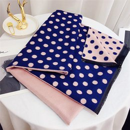 Tartan Scarf Thick Australia - Luxury Scarfs Shawls Brand Famous Designer Letter Pattern Womens Gift Scarves High Qualtiy Cashmere thick Wraps Size180x70cm Rt-9980