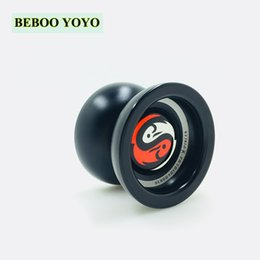 yoyo 1a tricks NZ - Beboo Alloy yoyo ball Kids Toys Metal ball bearing String Trick yoyo diabolo Yo-Yo Ball Funny yoyo Professional educational toys SH190913