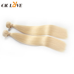 $enCountryForm.capitalKeyWord Australia - 613 Blonde Color Human Hair Weft Straight Body Wave 10-30 Inch 1pc lot Double Wefts Hair Extension Remy Human Hair Shiny Healthy Thick