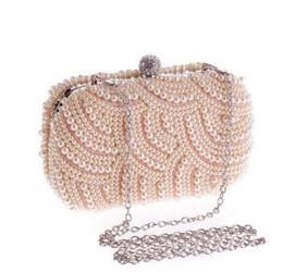 $enCountryForm.capitalKeyWord NZ - Pearl Evening bag for Women handbag Bride party bag Women Wallet Chain Clutch Bags Day clutches Lady wedding vintage purse #33327