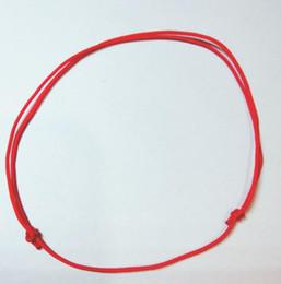 bracelet red luck 2019 - ashion Jewelry Bracelets 10pcs lot KABBALAH HAND Made Adjustable Red String Bracelet EVIL Jewelry Kabala Good Luck Brace