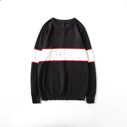 Mens Sweater Homens Mulheres Moda de Alta Qualidade pulôver manga comprida letra impressa Casal Camisolas tamanho M-XXL em Promoção