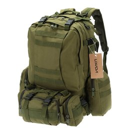 military tactical backpack rucksacks 2019 - Lixada 50L Military Tactical Backpack Climbing Rucksack Cycling Backpack Outdoor Bags Travel Sports Bag with MOLLE Webbi