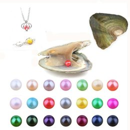 $enCountryForm.capitalKeyWord Australia - 2019 New 6-7mm DIY Round Variety Good Of Color Freshwater Pearl Oysters Individually Vacuum Pack Fashion Trend Gift Surprise Shell