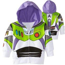 boys cotton hoodies 2019 - New Designs Cartoon Printed Kids Zipper Hoodies Spring and Autumn 3-12t Boys Hoodies Kids Boys Outdoor Coat Kids Designe