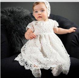 869825973d Abito bambina battesimo 2019 battesimo abito da bambina Abiti da sposa in  pizzo bianco Abiti da principessa Abito da sposa neonata vestiti A1661