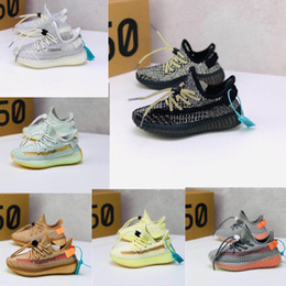 Kids hard leather shoes online shopping - Infant m Static v2 Kids Running shoes Black White trainers big small boy girl Children Toddler Clay Youth Basketball sneakers