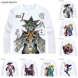 game yu gi oh Australia - Millennium Puzzle Sennen Pazzuru T Shirt Duel Monsters Yu-Gi-Oh King of Games Men T-shirt Casual Vintage TShirt Long Sleeve Shirts