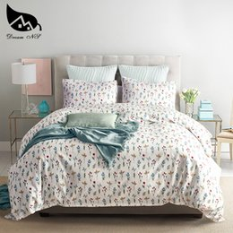 Discount cotton queen bedding set Dream NS Cotton Bedding Set Housewear & Furnishings Textile Twin Queen King Three-Piece Reactive Printing Pastoral Beddi