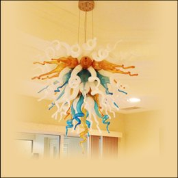 Kitchen Design Styles Australia - Top Design Colored Hanging Lamp Murano Glass Modern Art Design Traditional Type Vintage Office Home Lighting Blown Glass Style