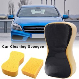 $enCountryForm.capitalKeyWord Australia - 1Pcs Car Wash Sponge Block Car Motorcycle Cleaning Supplies Large Size Sponge Brush Dusting Cleaning Tool
